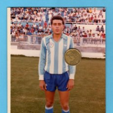 Coleccionismo deportivo: FOTO DEL JUGADOR DEL CD.MALAGA GIL, 1985-86. TAMAÑO 13X18. Lote 50574329
