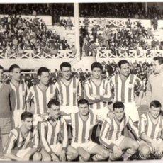 Coleccionismo deportivo: FOTOGRAFIA ORIGINAL EQUIPO DE FUTBOL DE SAN SEBASTIAN. TEMPORADA 1960-61. Lote 53727347