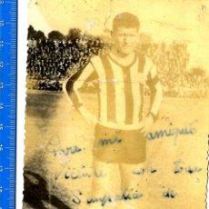 Collezionismo sportivo: CARTAGENA FUTBOL INTERESANTE FOTO JUGADOR JOSE PARRA AÑO 1960 . Lote 54090610