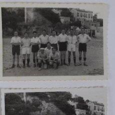 Coleccionismo deportivo: F-1591. CLUB DE FUTBOL 7 A 9. JUNIO DE 1939. EQUIPOS PARTIDO DE FUTBOL.. Lote 54266445