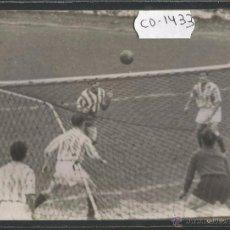 Coleccionismo deportivo: FOTOGRAFIA PARTIDO SPORTING GIJON-REAL SOCIEDAD -23 NOVIEMBRE 1952 --(CD-1433). Lote 54473864