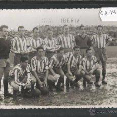 Coleccionismo deportivo: FOTOGRAFIA-PLANTILLA SPORTING DE GIJON -26 ABRIL 1953 -FOTO ORIGINAL FOTO LENA GIJON-(CD-1436). Lote 54474443