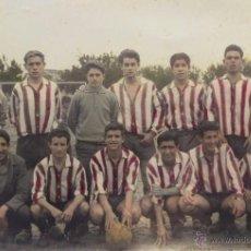 Coleccionismo deportivo: FOTOGRAFIA FUTBOL, CAMPO DE ALDAYA 1959, VALENCIA. Lote 54691293
