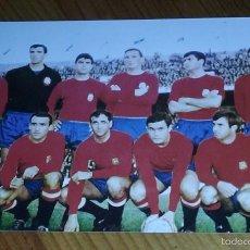 Coleccionismo deportivo: FOTOGRAFÍA SELECCIÓN ESPAÑOLA AÑOS 60. Lote 55326073