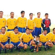 Coleccionismo deportivo: FOTOGRAFÍA ORIGINAL CÁDIZ CF (2001/02). Lote 57072045