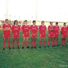 Coleccionismo deportivo: FOTO ORIGINAL SEVILLA FC (94/95) TROFEO CARRANZA CÁDIZ. Lote 57072100