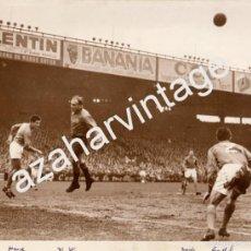 Coleccionismo deportivo: ESPECTACULAR FOTOGRAFIA DE ALFREDO DI STEFANO, PARIS,1958, FRANCIA-ESPAÑA,240X180MM. Lote 57579166