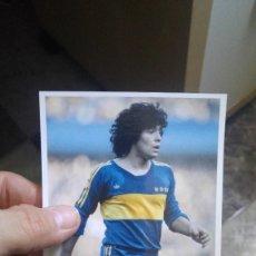 Coleccionismo deportivo - MARADONA - BOCA JUNIORS - FOTOGRAFÍA EN BRILLO DE 10 X 15 - NUEVA - 57582137