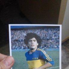 Coleccionismo deportivo - MARADONA - BOCA JUNIORS - FOTOGRAFÍA EN BRILLO DE 10 X 15 - NUEVA - 57582278