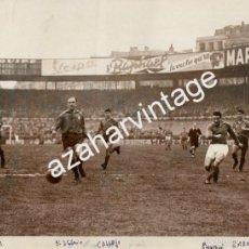 Coleccionismo deportivo: ESPECTACULAR FOTOGRAFIA DE ALFREDO DI STEFANO, GARAY, ZARRAGA, PARIS,1958, FRANCIA-ESPAÑA,240X180MM. Lote 57588295