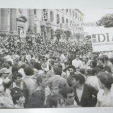 Coleccionismo deportivo: FOTOGRAFIA DE CICLISMO, VUELTA A ESPAÑA AÑOS 80, MIDE 24 X 17,5 CMS.. Lote 57964627