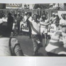 Coleccionismo deportivo: FOTOGRAFIA DE CICLISMO, VUELTA A ESPAÑA AÑOS 80, MIDE 24 X 17,5 CMS.. Lote 57964878