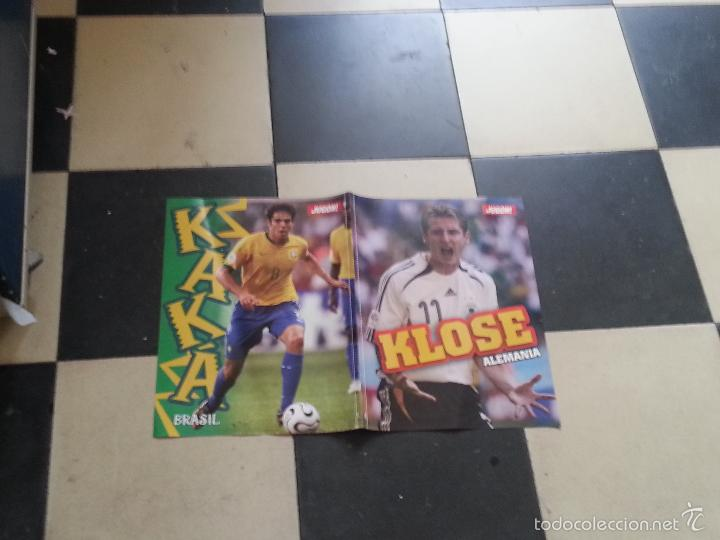 Coleccionismo deportivo: POSTER FUTBOL ITALIA 2006 DORSO KAKA BRASIL Y KLOSE ALEMANIA - Foto 2 - 57969108