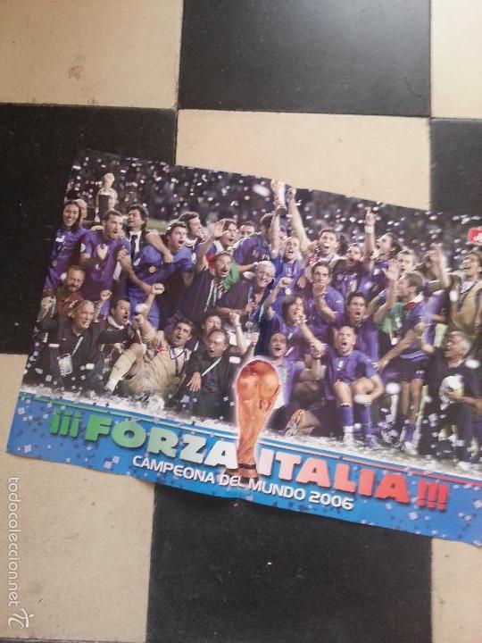 POSTER FUTBOL ITALIA 2006 DORSO KAKA BRASIL Y KLOSE ALEMANIA (Coleccionismo Deportivo - Documentos - Fotografías de Deportes)