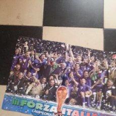 Coleccionismo deportivo: POSTER FUTBOL ITALIA 2006 DORSO KAKA BRASIL Y KLOSE ALEMANIA . Lote 57969108