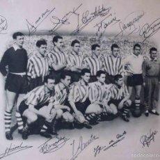 Coleccionismo deportivo: FOTOGRAFIA CAMPEON ATHLETIC CLUB DE BILBAO 1954-55. Lote 58090458