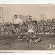 Coleccionismo deportivo: FOTOGRAFIA FUTBOL. CADIZ CF - CORDOBA. JUGADA DE PELIGRO EN LA PUERTA DEL CORDOBA. JUMAN. 18 X12CM. Lote 58770327
