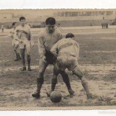 Coleccionismo deportivo: FOTOGRAFIA FUTBOL. CADIZ CF - ELCHE. INTERNADA DE LORENTE. FOTO JUMAN. Lote 58771776