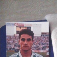 Coleccionismo deportivo: FOTOGRAFÍA ORIGINAL KODAK REAL BETIS REALIZADA EN PROPIO VILLAMARIN AÑOS 90 JAIME. Lote 59077400