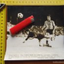 Coleccionismo deportivo: FUTBOL GRAN FOTOGRAFIA 1976 CADIZ TROFEO CARRANZA ATLETICO MADRID ATLETIC BILBAO REMATE DE GARATE. Lote 59205405