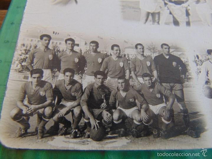 Coleccionismo deportivo: FOTO FOTOGRAFIA TARJETA POSTAL PARTIDO DE FUTBOL A IDENTIFICAR - Foto 2 - 59774100