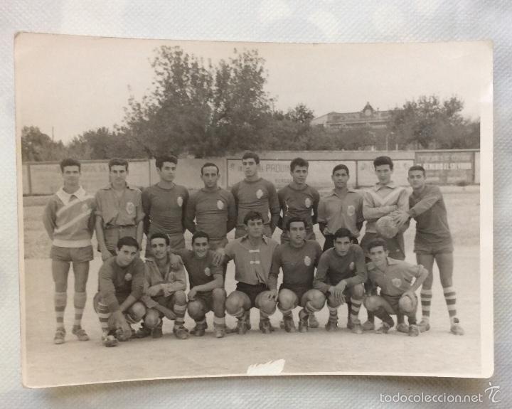 Coleccionismo deportivo: TRES FOTOGRAFÍAS FÚTBOL. DEPORTIVO ALBAIDENSE. ALBAIDA. VALENCIA. - Foto 7 - 59807260