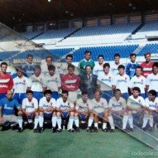Coleccionismo deportivo: FOTOGRAFIA OFICIAL FUTBOL REAL ZARAGOZA AÑOS 80 CALVO PEDROS. Lote 60809059
