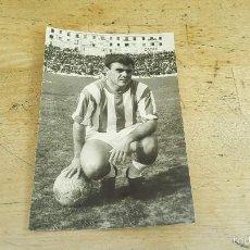 Coleccionismo deportivo: FOTOGRAFIA ORIGINAL DEL JUGADOR DEL CORDOBA RAFAEL BENITEZ, 14 X 9 CM.. Lote 60992919