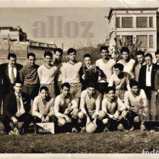Coleccionismo deportivo: EQUIPO DE FÚTBOL AT.OLIMPIC DE BARCELONA.. Lote 62235756