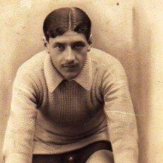 Coleccionismo deportivo: FOTO DEL CICLISTA OSCAR LEBLANC. CAMPEON DEL CAMPEONATO DE ESPAÑA DE RUTA 1914. CICLISMO. BICICLETA.. Lote 62383568