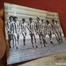 Coleccionismo deportivo: ORIGINAL FOTO DE PRENSA FUTBOL EQUIPO ALMERIA 1981 FOTOGRAFIA MORENO. Lote 63899895
