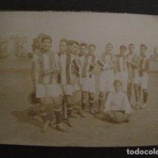 Coleccionismo deportivo: FOTOGRAFIA DE FUTBOL - PEQUEÑA -VER FOTOS Y TAMAÑO - (V- 7136). Lote 64984071