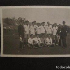 Coleccionismo deportivo: FOTOGRAFIA DE FUTBOL - PEQUEÑA -VER FOTOS Y TAMAÑO - (V- 7143). Lote 64984543