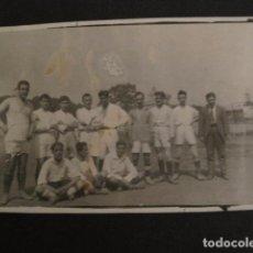 Coleccionismo deportivo: FOTOGRAFIA DE FUTBOL - PEQUEÑA -VER FOTOS Y TAMAÑO - (V- 7145). Lote 64984663