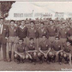 Coleccionismo deportivo: FOTOGRAFÍA DEL REAL MURCIA AÑOS 1950 MIDE 10,50 X 7,50 CMS.. Lote 67829385