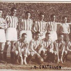 Coleccionismo deportivo: FOTOGRAFÍA DEL C.D. CASTELLÓN AÑOS 1940 MIDE 8,50 X 6 CMS.. Lote 67830625