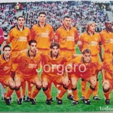 Coleccionismo deportivo: VALENCIA C.F. ALINEACIÓN FINALISTA CHAMPIONS 1999-2000 EN PARÍS CONTRA R. MADRID. FOTO. Lote 178284851
