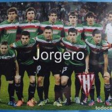 Coleccionismo deportivo - ATH. BILBAO. ALINEACIÓN FINALISTA EUROPA LEAGUE 2011-2012 EN BUCAREST CONTRA AT. MADRID. FOTO - 112569607