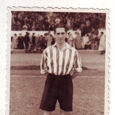 Coleccionismo deportivo: FOTOGRAFÍA DE OCEJA FUTBOLISTA DEL ATLETICO DE BILBAO AÑOS 1940. Lote 69595105