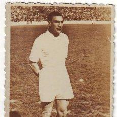 Coleccionismo deportivo: FOTOGRAFÍA DE ALONSO JUGADOR DEL REAL MADRID DÉCADA DE LOS 40. Lote 69764417