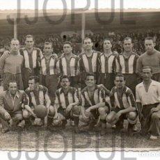 Coleccionismo deportivo: S. G. LUCENSE 1 - RACING DE FERROL 1. LUGO 1949. FUTBOL. DEDICATORIA Y ALINEACIÓN EN EL DORSO. Lote 70156213