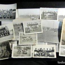 Coleccionismo deportivo - LOTE DE 18 FOTOGRAFIAS ANTIGUAS DE FUTBOL VINTAGE FOOTBALL PHOTOGRAPH SPAIN - 71755139
