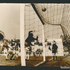 Coleccionismo deportivo: FOTOGRAFÍA DE FUTBOL.2ª DIVISIÓN TEMP.1962-63.AGRUPACION DEPORTIVA PLUS ULTRA-CÁDIZ C.F.FOTO JUMAN. Lote 73039855