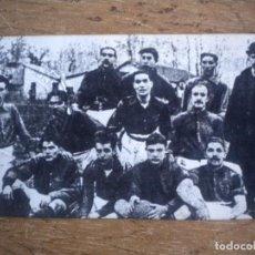 Coleccionismo deportivo: FOTOGRAFIA CON SELLO EN SECO FOOT-BALL CLUB BARCELONA 1899. FCB . Lote 110166451