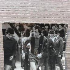 Coleccionismo deportivo: FOTO DE JOHAN CRUYFF EN EL RICO PEREZ DE ALICANTE. Lote 73490299