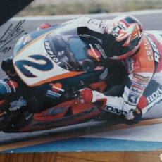 Coleccionismo deportivo: FOTOGRAFIA CON AUTOGRAFO ORIGINAL ALEX CRIVILLE 1997. Lote 73741497