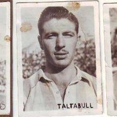 Coleccionismo deportivo: TRES FOTOGRAFÍAS DE FUTBOLISTAS AT. DE MADRID AÑOS 1940. Lote 74187519