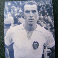 Coleccionismo deportivo: FOTOGRAFÍA MANUEL BADENES - VALENCIA 1952 MIDE 9 X 8 CM. Lote 75604255