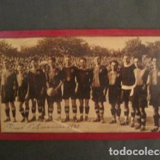 Coleccionismo deportivo: FOTOGRAFIA F.C BARCELONA AÑO 1925 - ENGANCHADO A MADERA-RECORD DELS CAMPIONS - VER FOTOS - (V-8979). Lote 75643131
