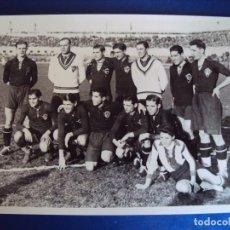 Coleccionismo deportivo: (F-170221)FOTOGRAFIA PARTIDO SELECCION ESPAÑA-CHECOSLOVAQUIA AÑOS 30,ZAMORA,BOSCH,ETC.. Lote 75874307